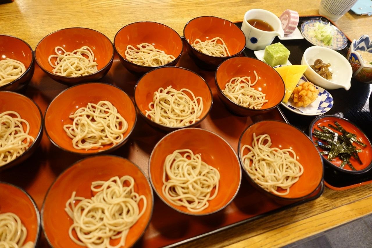 วังโกะโซบะ อาหารที่ต้องกิน เมื่อมาเที่ยว อิวาเตะ