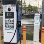 EV charging station-unique services-japan convenience store