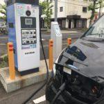 EV charging station2-unique services-japan convenience store