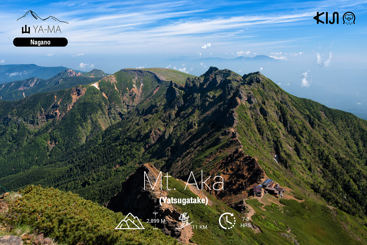 ภูเขา ญี่ปุ่น - ภูเขาอากะ (Mt. Aka / Yatsugatake) จ.นากาโน่ (Nagano)