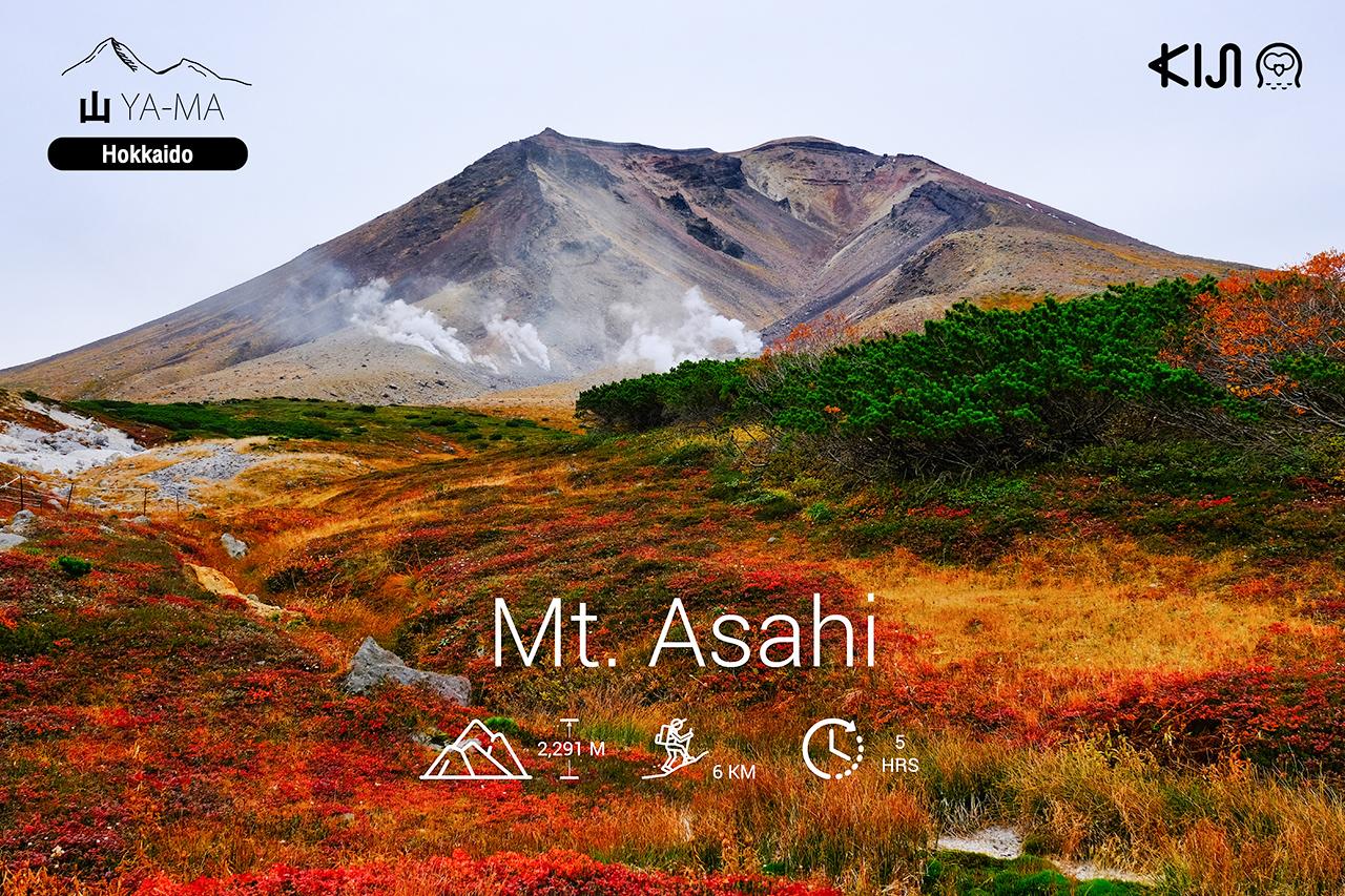ภูเขา ญี่ปุ่น - ภูเขาอาซาฮิ (Mt. Asahi) จ.ฮอกไกโด (Hokkaido)