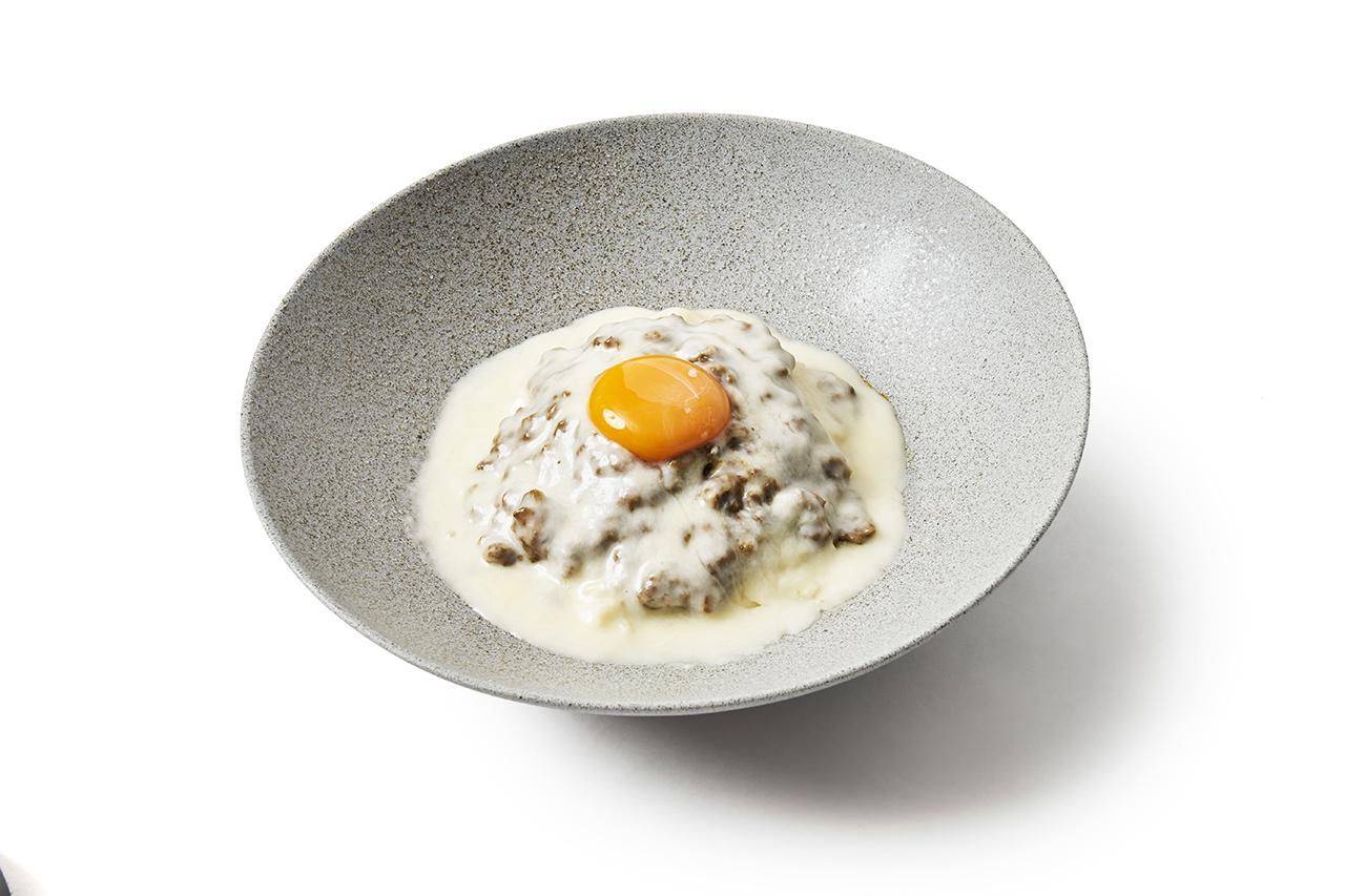 Cheese Keema Curry Somen (1,320 เยน) เส้นโซเมนที่ปรุงรสชาติแบบแกงกะหรี่คีมา จำหน่ายเฉพาะสาขา SO-MEN SOSOSO Kenkyushitsu