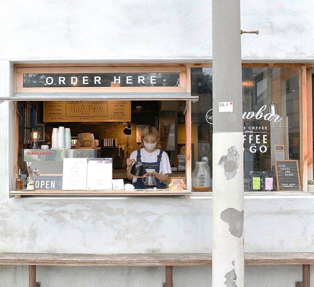 คาเฟ่โตเกียว : LEAVES COFFEE APARTMENT คาเฟ่คนรุ่นใหม่ที่ต้องการส่งต่อกาแฟคุณภาพด้วยความพิถีพิถัน