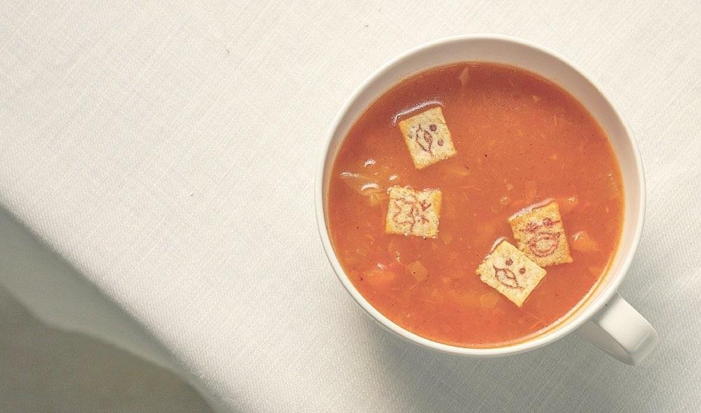 เพียงใส่ ARARE Jumpin ลงไปในซุปร้อนๆ ก็กลายเป็นมื้ออาหารสุดพิเศษได้