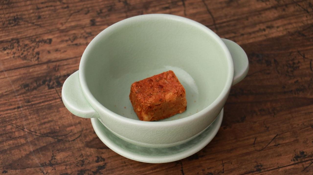 ต้มยำกุ้งแบบก้อน เพียงเติมน้ำร้อนก็พร้อมอร่อยทันที!!