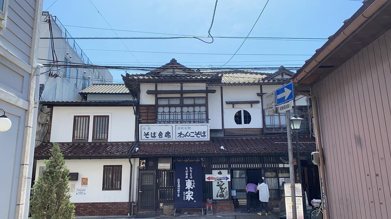 Azumaya Honten ร้านวังโกะโซบะชื่อดังในเมืองโมริโอกะ จังหวัด อิวาเตะ