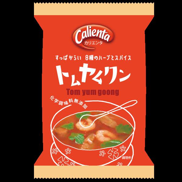 Calienta Tom Yum Goong ต้มยำกุ้งแบบก้อน จำหน่ายในญี่ปุ่น
