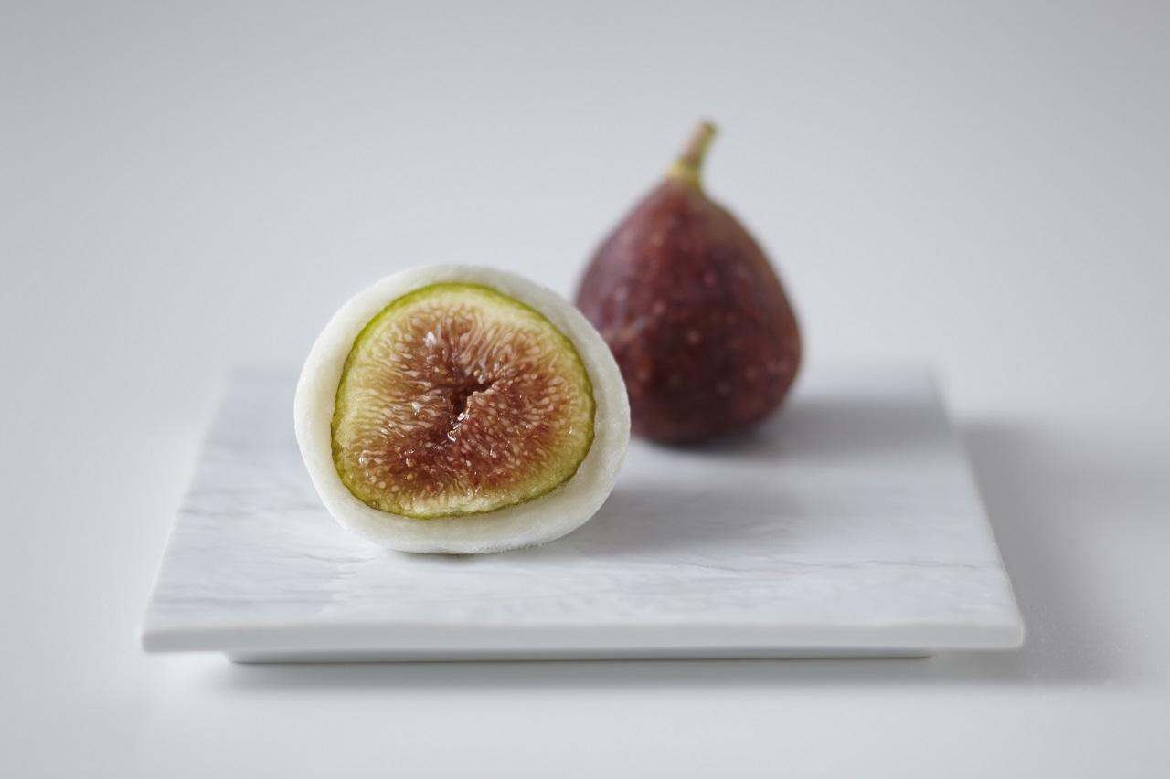 ไดฟูกุสอดไส้ลูกมะเดื่อ (Fig) ลูกโตของร้าน Mikage Fruit Daifuku Hanabishi