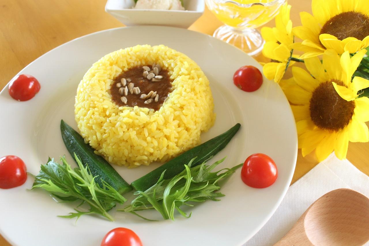 Yokosuka Soleil Hill กับเมนูพิเศษ Soleil Curry ข้าวแกงกะหรี่ที่จัดแต่งข้าวกับน้ำแกงให้เหมือนดอกทานตะวัน
