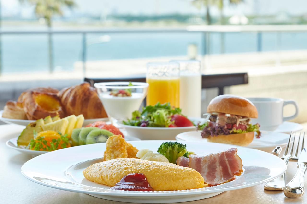 มื้อเช้าแบบบุฟเฟต์ที่ Grand Nikko Tokyo Bay Maihama