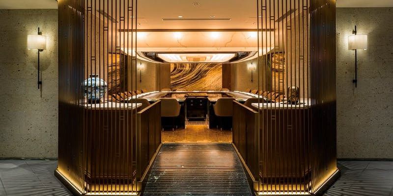 Kamon ร้านเทปปันยากิโตเกียว ภายในโรงแรม Imperial Hotel Tokyo