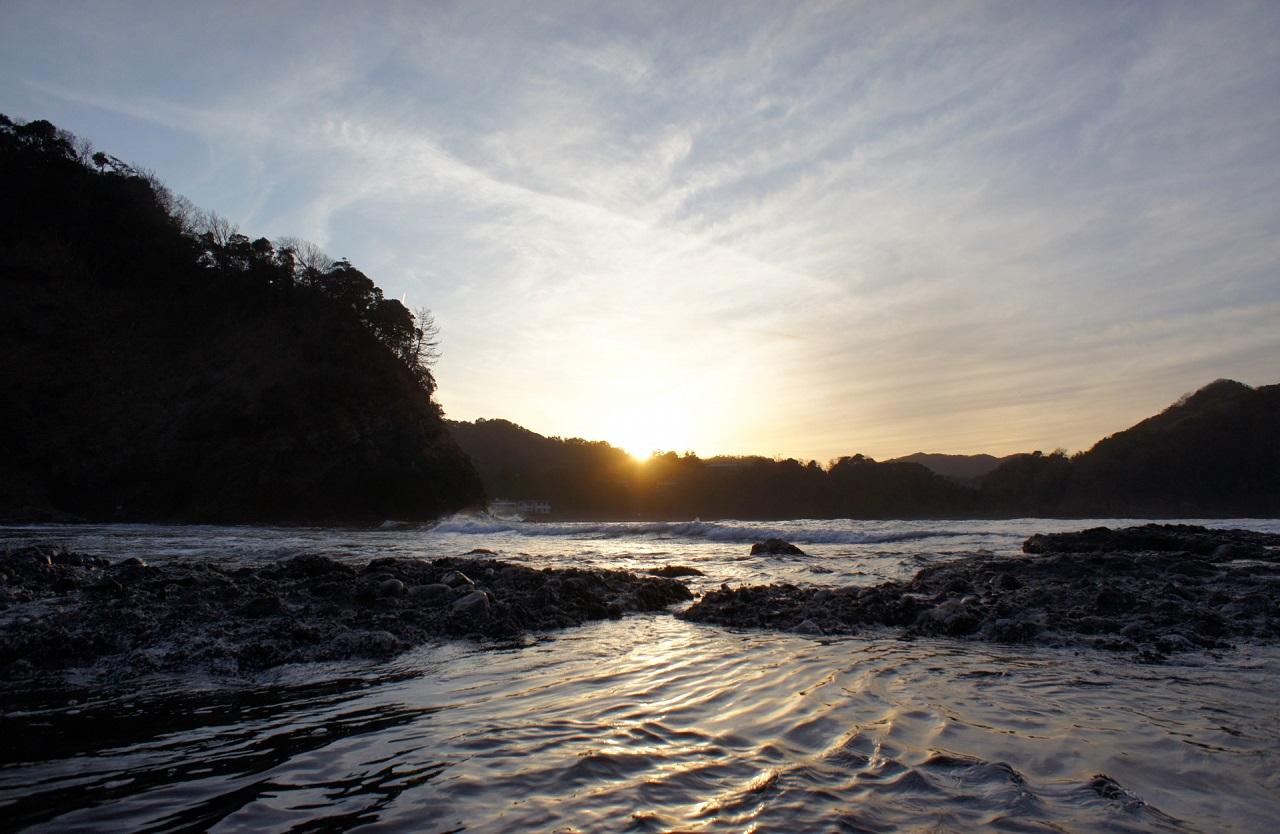 พระอาทิตย์ตกดิน ทาเคโนะ คิโนะซากิ