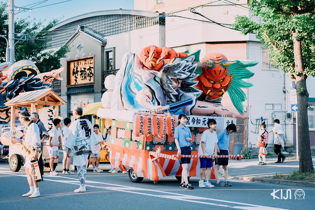 Nebuta Matsuri เทศกาล ฤดูร้อน อาโอโมริ