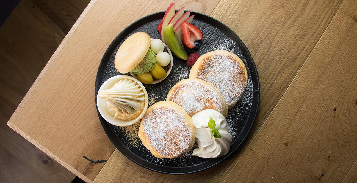 คาเฟ่โอซาก้า : Japanese-Style Pancakes จากร้าน CAFE ANNON