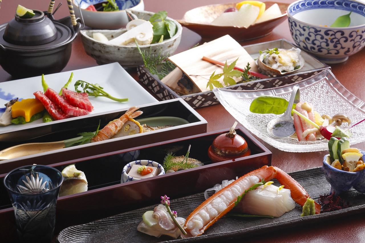 อาหารเย็น เรียวกัง คิโนะซากิ