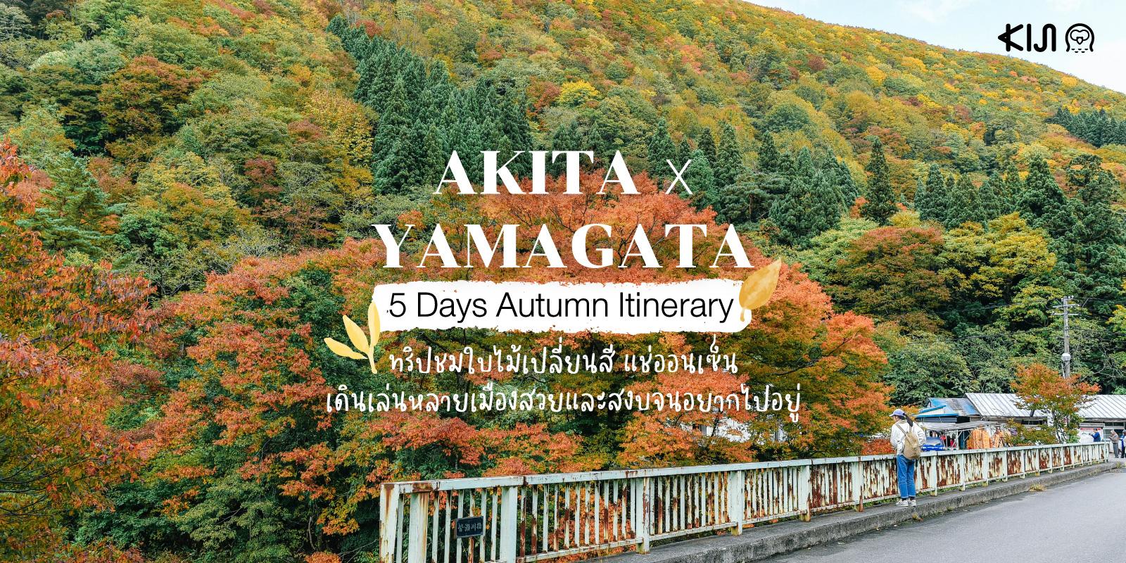 แพลนเที่ยว 'อาคิตะ' (Akita) 'ยามากาตะ' (Yamagata) 5 วัน ฤดูใบไม้ร่วง