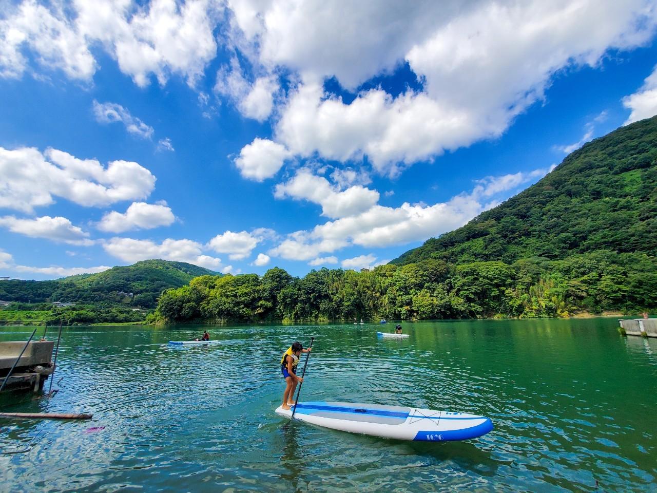 Lake Ikeda ทะเลสาบสำหรับคนรักกิจกรรมแอดเวนเจอร์
